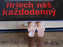 Papiernictvo - Záložka kniho-nôžka - 5849812_