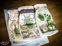 - Vrecká na bylinky - sada 3 ks - 5853737_