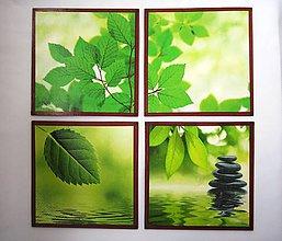 Obrázky - Obrázky relax- sada 4 ks - 5856652_