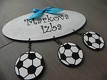 Tabuľky - Tabuľka na dvere pre chlapcov - 5856441_