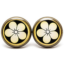 Náušnice - Japanese blossom - 5856059_