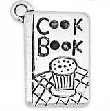 Komponenty - Prívesok kuchárska kniha COOK BOOK - 5853417_