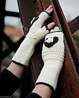 c0a220b08 Rukavice - Bezprstové rukavice Ivory Love + čelenka ako darček...SUPER CENA  -. Rukavice by CreativeNicol