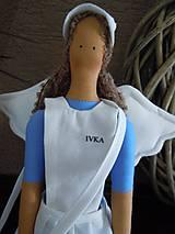 Bábiky - Anjelka - sestrička - 5857560_