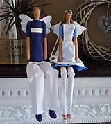 Bábiky - Anjelka - sestrička - 5857561_