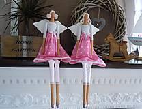 Bábiky - Ružová hviezdičková - 5860593_