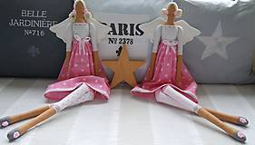 Bábiky - Ružová hviezdičková - 5860616_