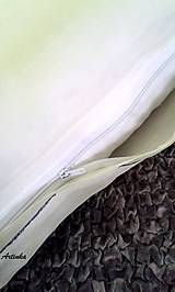 """Úžitkový textil - Vankúš hodvábny  """"kolibrík"""" - 5857756_"""