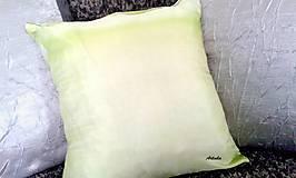 """Úžitkový textil - Vankúš hodvábny  """"kolibrík"""" - 5857757_"""