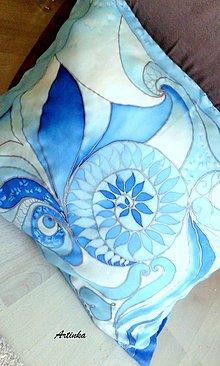 Úžitkový textil - Hodvábny vankúš