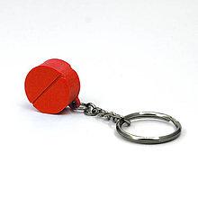 Kľúčenky - kľúčenka na okrúhlu tabletku - 5859279_