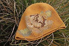 Čiapky - ruženka žltá - 5859900_