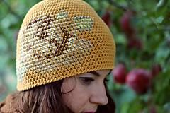 Čiapky - ruženka žltá - 5859903_