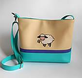 Detské tašky - ovčia - 5859429_