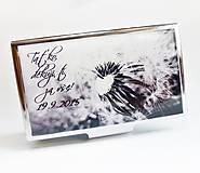 Krabičky - pouzdro na vizitky Odkvetlá kráska - 5858319_