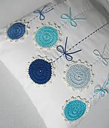 Úžitkový textil - ú-stredná postava: Gentiana... - 5857869_