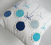Úžitkový textil - ú-stredná postava: Gentiana... - 5857872_