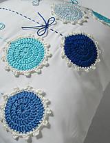 Úžitkový textil - ú-stredná postava: Gentiana... - 5857877_