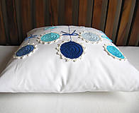 Úžitkový textil - ú-stredná postava: Gentiana... - 5859168_