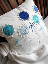 Úžitkový textil - ú-stredná postava: Gentiana... - 5859169_