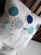 Úžitkový textil - ú-stredná postava: Gentiana... - 5859170_