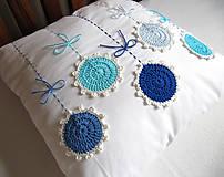 Úžitkový textil - ú-stredná postava: Gentiana... - 5859171_