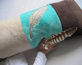 Úžitkový textil - Winnetou, nevieš, kde mám pierko?... - 5857110_