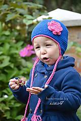 Detské čiapky - Prechodná ušianka