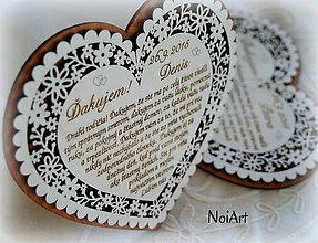 Darčeky pre svadobčanov - Poďakovanie rodičom 8 - 5861875_