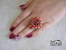 Prstene - Janka - prsteň s jaspisom - 5861409_
