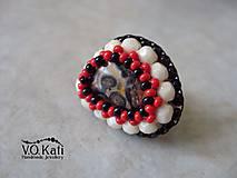 Prstene - Ramona - prsteň s jaspisom - 5861432_