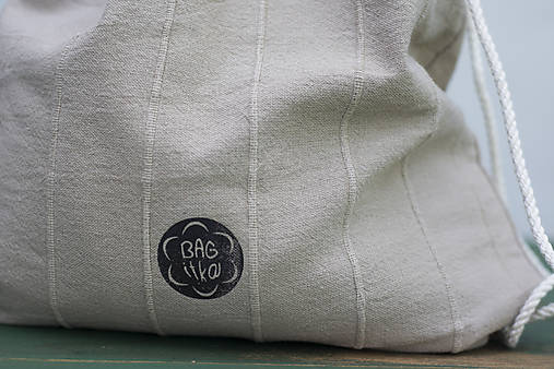 be21e15b74 Bežový batoh s velrybou -30%   BAGitka obecna - SAShE.sk - Handmade ...