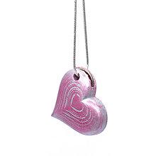 Náhrdelníky - Náhrdelník Srdce s otvorm na kľúčik - 5861883_