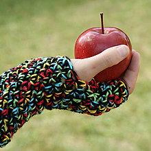 Rukavice - rukavičky Pastelky - 5861075_