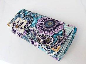Peňaženky - Fortissimo fialková - velká na spoustu karet - 5864833_