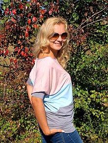 Tričká - Trojfarebné tričko - 5863195_