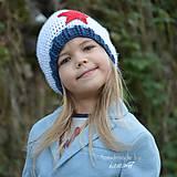 Detské čiapky - Prechodná... homeless s hviezdou - 5868111_