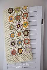 Textil - Detská deka ... Jeseň - 5868294_