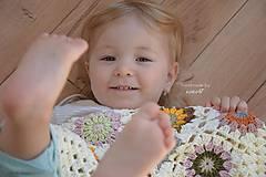 Textil - Detská deka ... Jeseň - 5868298_