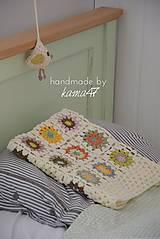 Textil - Detská deka ... Jeseň - 5868299_