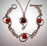 Sady šperkov - Srdcovka - 5865617_