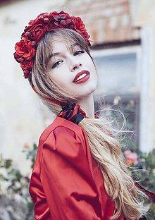 Ozdoby do vlasov - Autumn in RED by Hogo Fogo - 5866830_