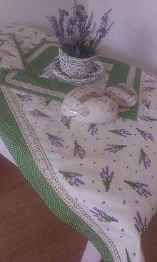 Úžitkový textil - levandulový obrus - 5867856_