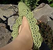 Obuv - Merino krajkové papučky - AKCIA 30 - 5869047_