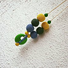 Náhrdelníky - Kojací náhrdelník - 5869652_