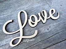Love-nápis