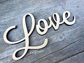 Tabuľky - Love-nápis - 5868950_