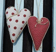 Dekorácie - Srdce pre mamu - sada - 5870345_