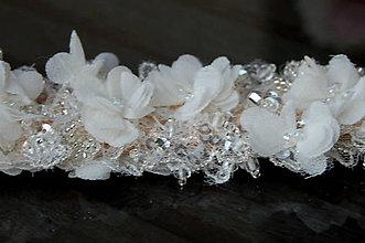 Bielizeň/Plavky - Wedding Lace Collection ... podvazek - 5873930_