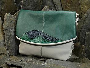 Kabelky - Kožená kabelka - Jemen Colours - 5875092_